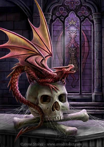 Anne Stokes Dragonslayer Network