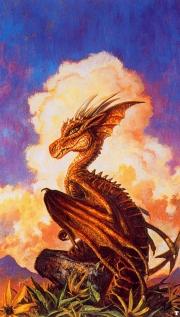 The familiar dragon