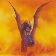 Naras dragon of the volcanos