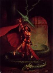 Priestess of serpent