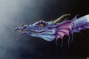 Blue dragon profile
