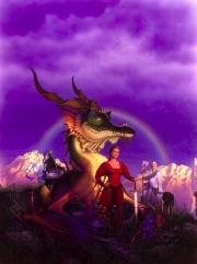 The dragon at the border