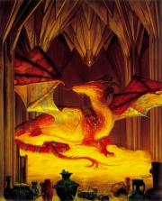 The great dragon Smaug