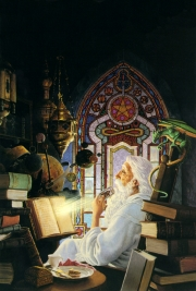 The wizards study