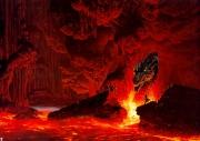 Fire sea