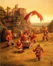 Dwarven kingdoms of Krynn