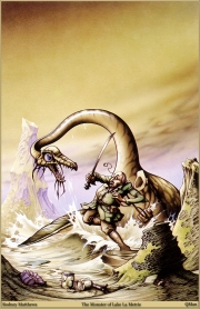 The monster of lake la Metrie