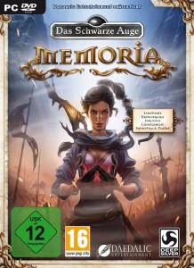Das Schwarze Auge - Memoria Cover